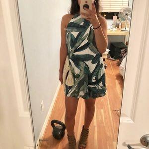 Show Me Your Mumu Banana Leaf Dress